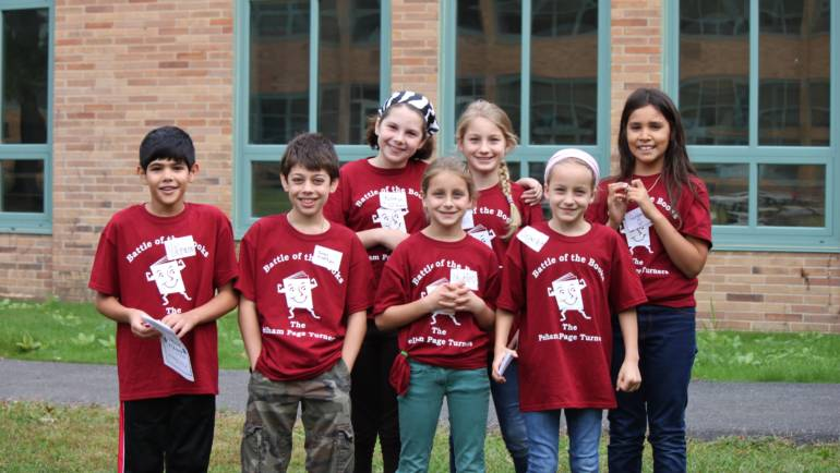 """Pelham Page Turners Tie for Third in """"Battle of the Books"""""""