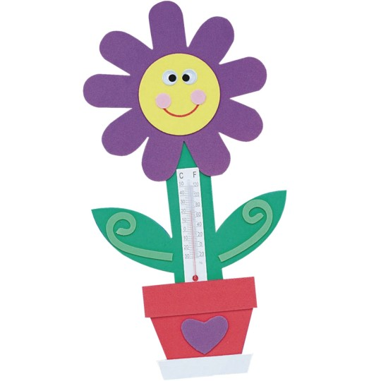 Kids Summer Craft: Make Thermometer Magnets