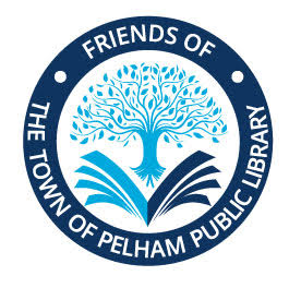 Logo for the Friends of Town of Pelham Library
