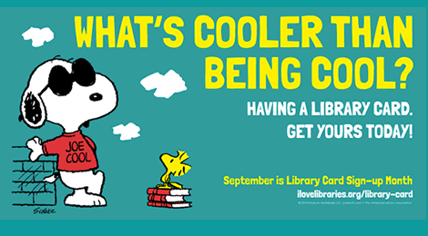 K-Day Is Coming on September 12 -- Part of Library Card Sign-up Month!