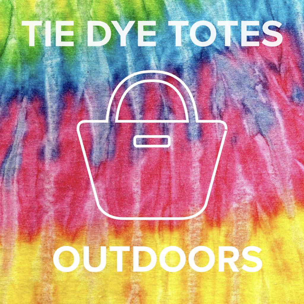Tie Dye Totes