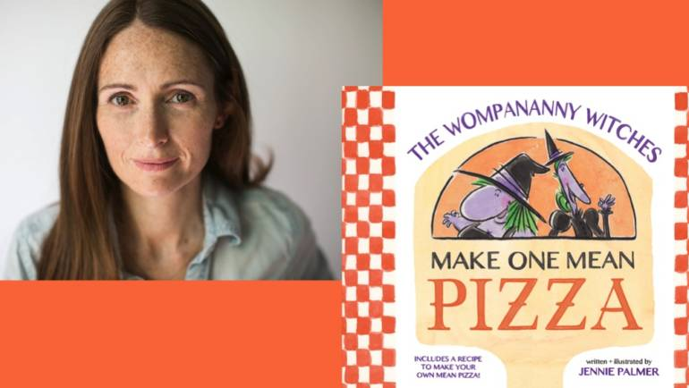 Author Reading, Oct. 27: The Wompananny Witches Make One Mean Pizza