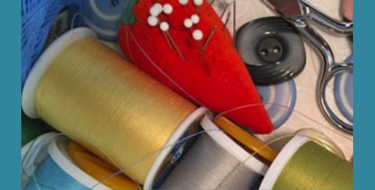 Bookmark: It's So -- You Can Learn to Sew at the Library!