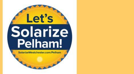 May 5: Solarize Pelham Presentation