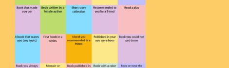 It's Not Too Late to Play Adult Reading Game Bingo! You Might Even Win a Kindle!