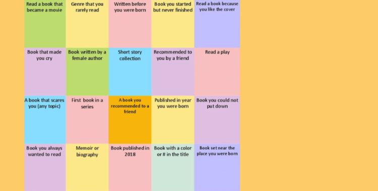 Play Adult Reading Game Bingo This Summer -- You'll Have Fun, and You Might Win a Kindle