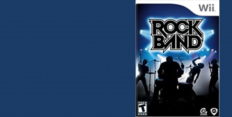 Rock Out With Rock Band This Month at the Library!