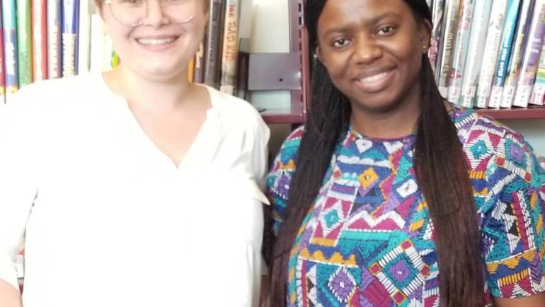 Meet Our New Librarians Tasha Gross and Florence Simunyola!
