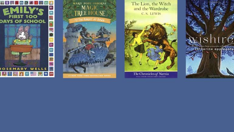 See What the Library's Elementary School-Aged Book Clubs Are Reading in December!