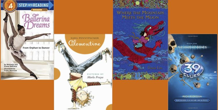 See What the Library's Elementary School-Aged Book Clubs Are Reading in January!