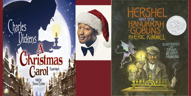 Looking for Festive Books, Movie, Music? Check Out the Library's E-Resources!
