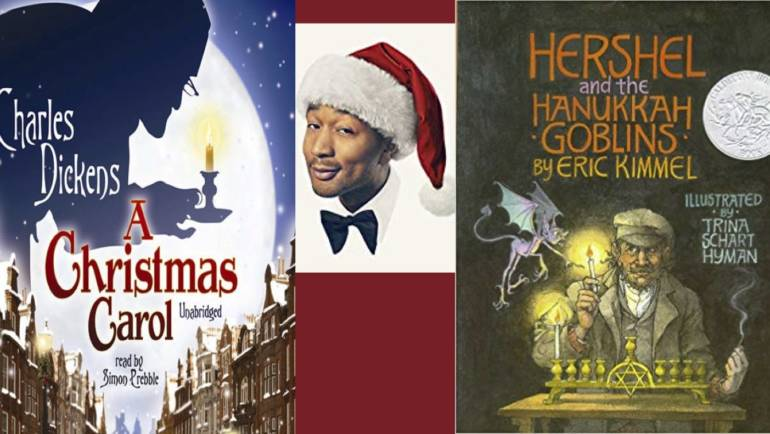 Looking for Festive Books, Movies, Music? Check Out the Library's E-Resources!