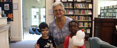 """September 2014 Bookmark: Kindergarten """"K-Day,"""" An Author Talk, A Book Battle, Novel Night: It's All Part of Fall at the Library!"""