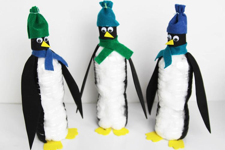 penguin water bottles